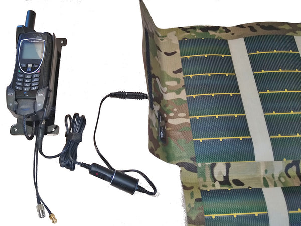 ASE-9575-HQ-DOD WITH 30 WATT FOLDABLE SOLAR PANEL