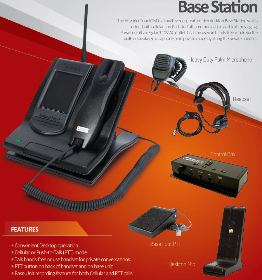 AdvanceTec Iridium Base Station