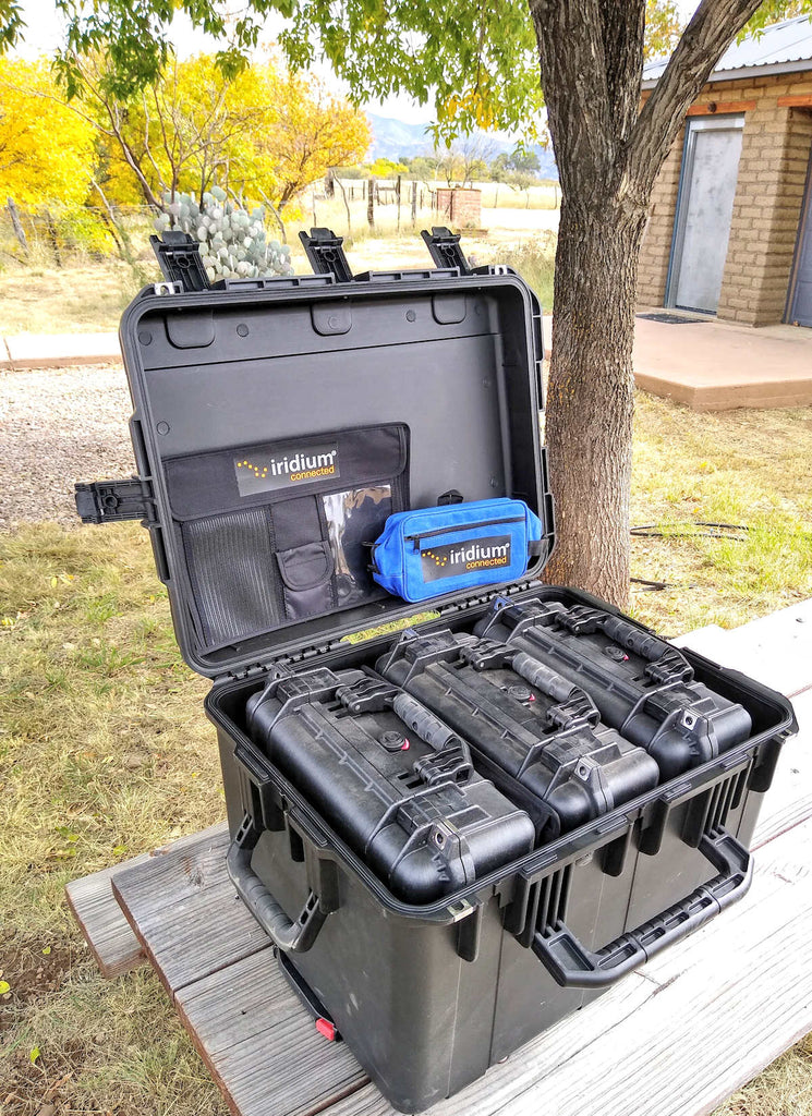 Icom Iridium Radios Fly Away Kits