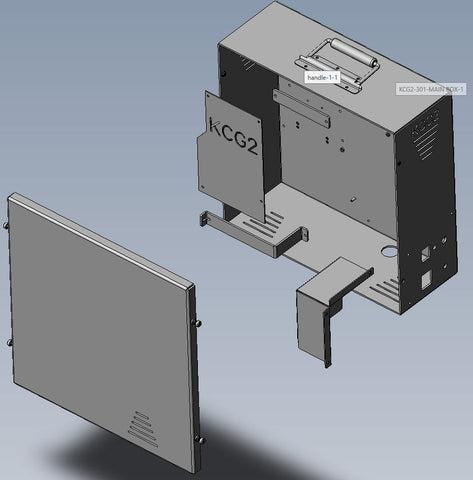 KCG2 Enclosure for the MSAT-G2