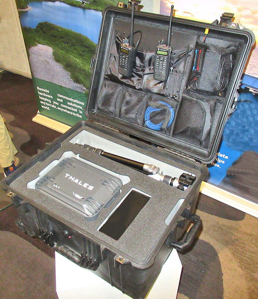 Thales MissionLINK Pelican 1620 case with lid organizor