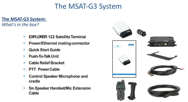 MSAT G3 Whats in the box