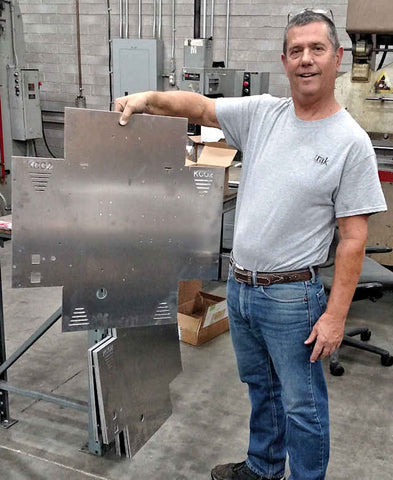 Glenn with KCG2 MSAT-G2 enclosure metal