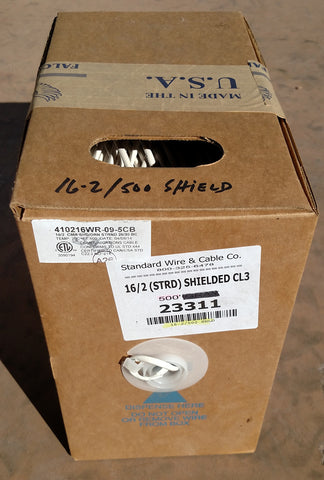 Speaker Wire Shielded 16-2 500' Box