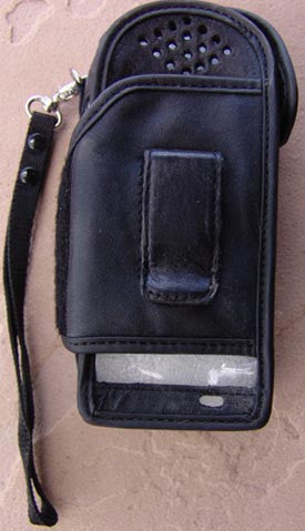 Motorola 9505 and Iridium 9505A leather holster Iridium accessories