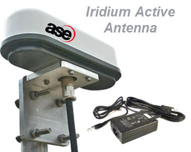 ASE Iridium active antenna