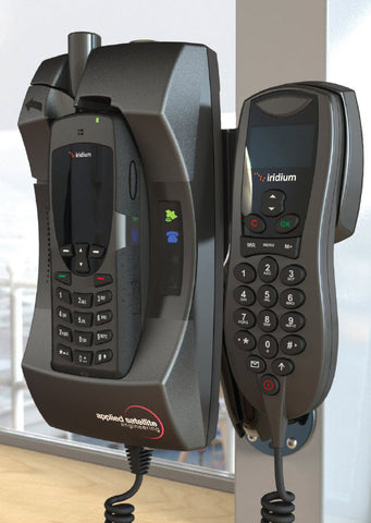 Iridium Docking Station DK-050-H for Iridium 9555 Sat Phone includes Iridium Intelligent Handset