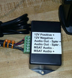 Amplified speaker for MSAT G2