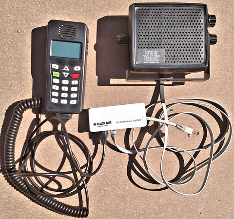 IPR750 G2 HANDSET & SPEAKER Combo MSAT satellite communications