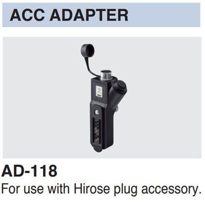 AD-118 ACC Adapter for IC-SAT100