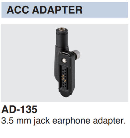 Icom AD-118 ACC Adapter for Icom IC-SAT100 PTT Radio
