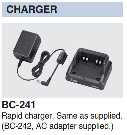 Icom BC-241 Charger