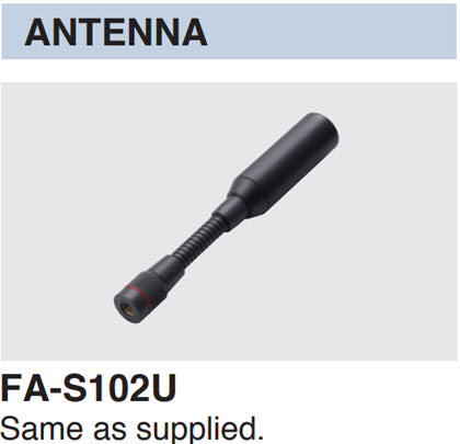 Icom FA-S102U Antenna for IC-SAT100 PTT Radio