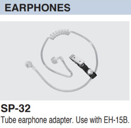 Icom SP-32 Tube earphone adapter