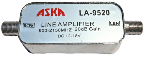Satellite Line Amplifer 900-2150MHz Aska LA-9520