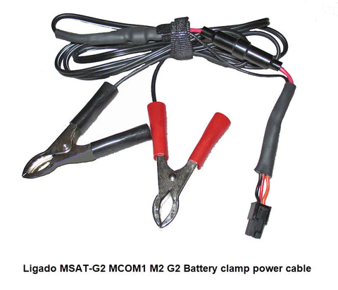 Ligado MSAT-G2 12V Battery Clamp power cable