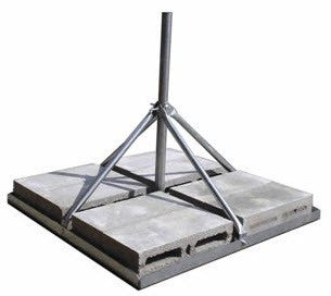 Non-Penetrating Roof mount for MSAT-G2 Antenna