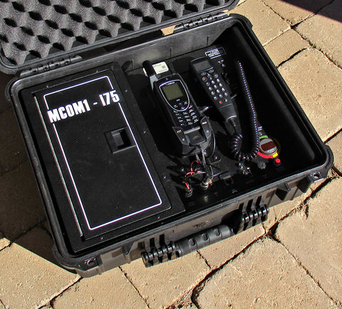 MCOM1 Iridium ASE Bearcat DOD docking station