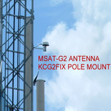 MJ Sales pole mount for MSAT G2 antenna