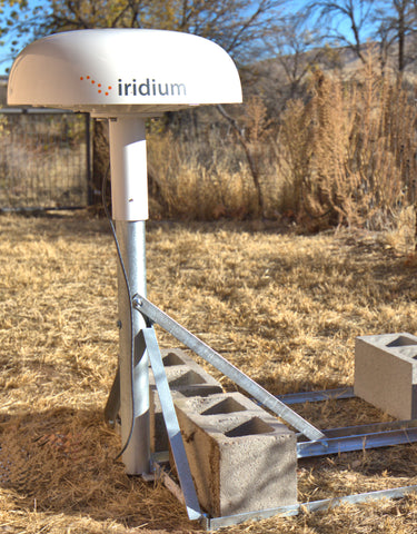 Iridium Pilot Pole Mount and Non-Penetrating Mount 'Combo'