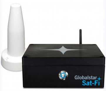 Globalstar Sat-Fi Satellite Hotspot with Building Antenna SATFI-US-HX