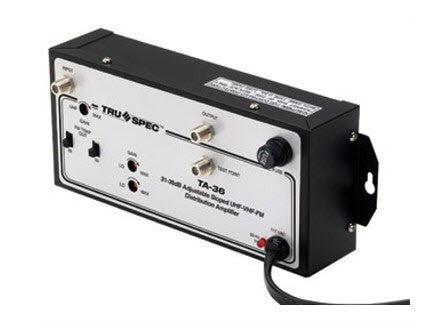 Tru Spec TA-36 Pico Digital Cable TV amplifier