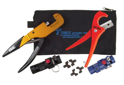TIMES Microwave Cable Preparation Tool Kit for LMR-400 & LMR-600 TK-01
