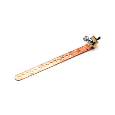Copper Ground Straps for Cable TV & Satellite System