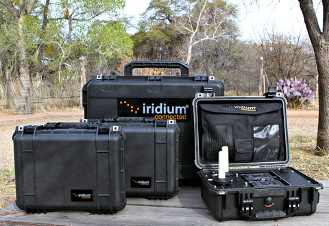 Iridium Go! 3 in 1 Fly Away Kit Ruggedized 6 Iridium Hot Spots