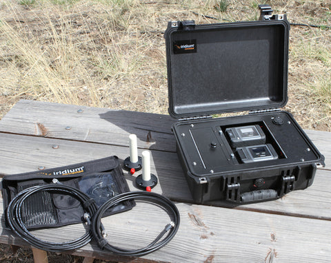 Iridium Go! Fly Away Kit Ruggedized