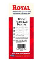 Advance Health Care Directive - Canadian - Do-it-Yourself Legal Forms