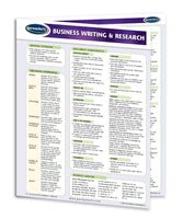 Business Writing & Research Quick Reference Guide