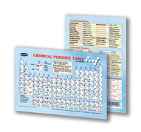 Chemical Periodic Table Pocket Size Chart back