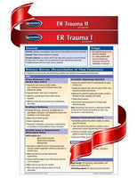 ER Trauma I & II - Medical Pocket Chart Bundle