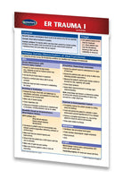 Medicine & Anatomy - ER Trauma I (Pocket Size) quick reference guide