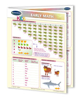 Math - Early Learning Quick Reference Guide For Kids