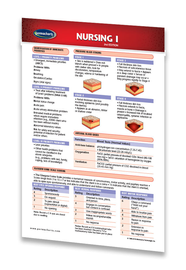 Nursing Study Guide I Pocket Size Quick Reference Resource