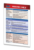 Pediatric Care II Pocket guide quick reference chart