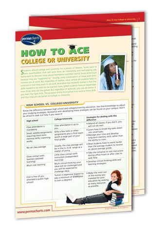 Academics - How To Ace College Or University