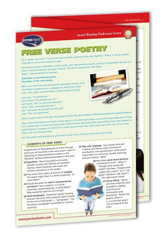 Award Winning Professors Series - Free Verse Poetry