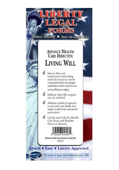 American Living Will Guide USA Quick Reference Resource - American legal forms