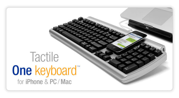 Tactile One keyboard