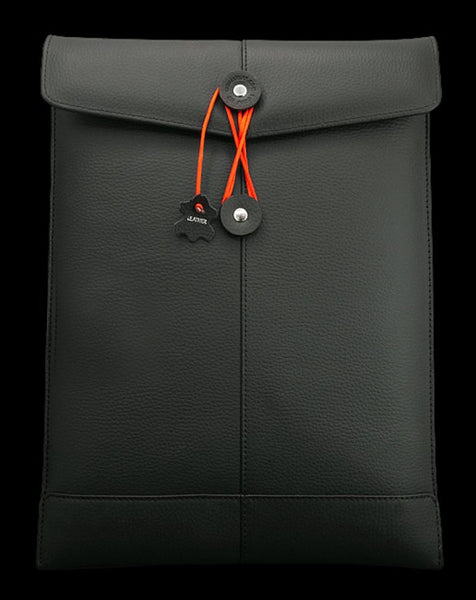 Civilian Lab Air Manila - Black/Lab Pro Manila 15 Black Leather for MBP