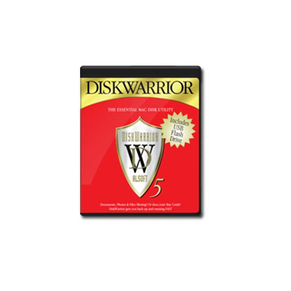 DiskWarrior ver 5.2 with Flash Drive