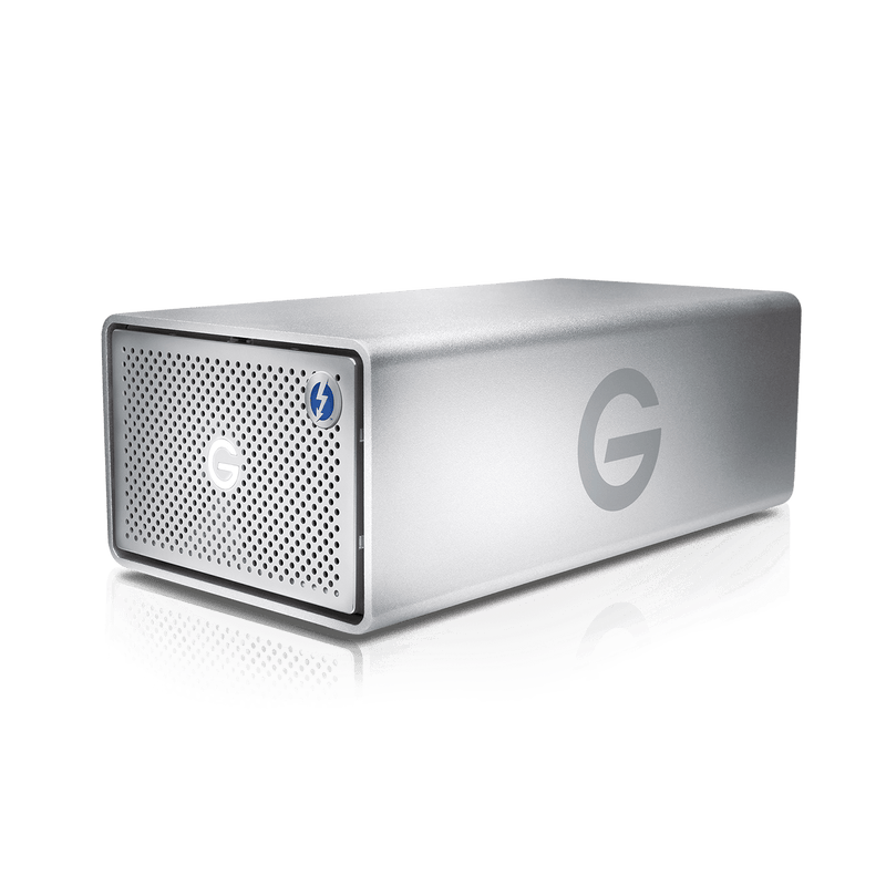 "G Tech 3.5"" G Raid Thunderbolt 3 with Removable Drives (7200rpm Enterprise class Drives , 2X Thunderbolt 3, USB Type-C)"
