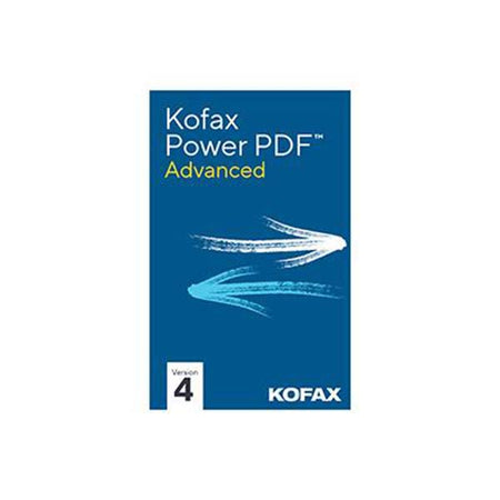 Kofax Power PDF 4 Advanced, Box Retail