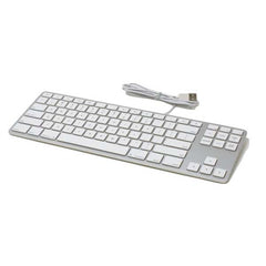 Matias Wired Aluminum Tenkeyless Keyboard for Mac