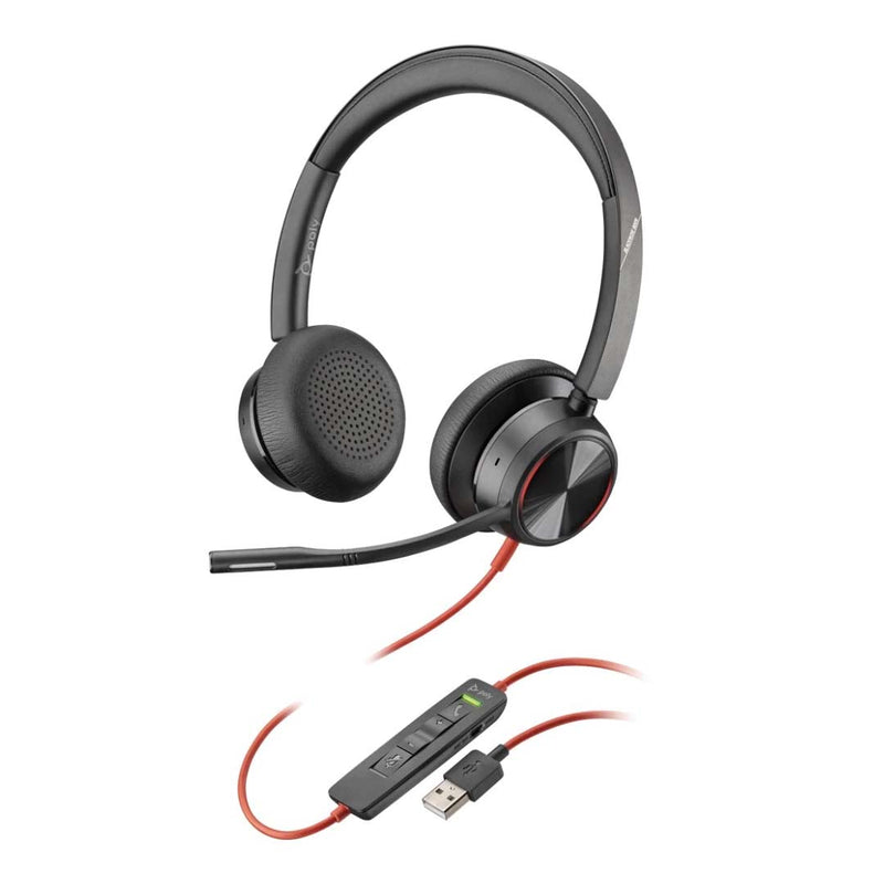 plantronics blackwire 8225 USB A headset