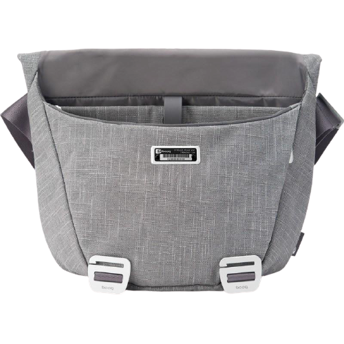 "Booq Shadow Messenger Bag 12-15"" Gray Fibre"