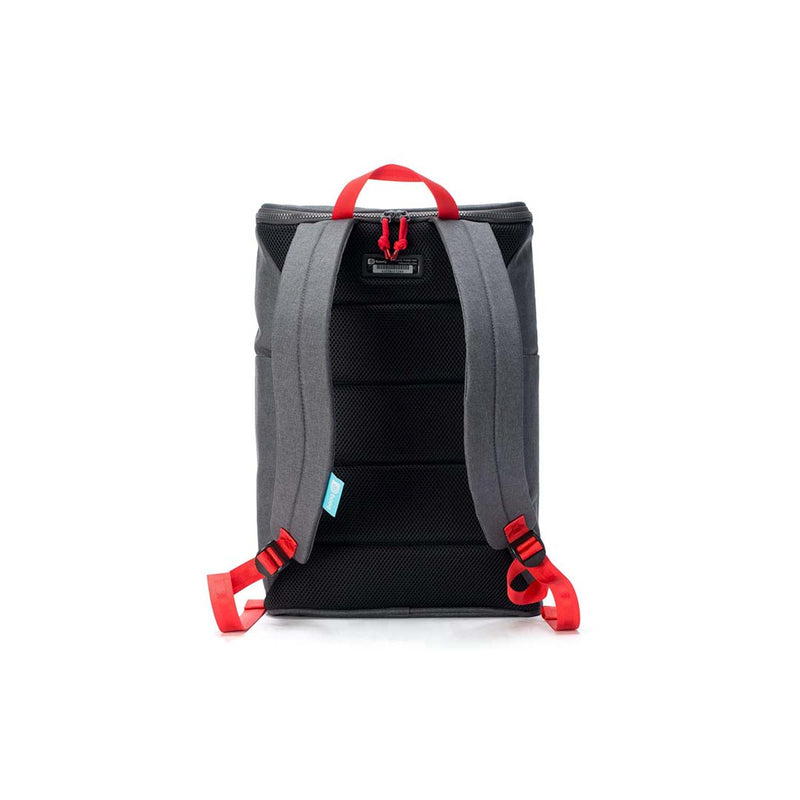Booq Daypack, gray-red